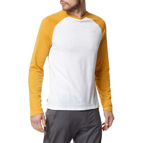 Craghoppers NosiLife Lorenzo Long Sleeved T-Shirt Gutter indian yellow/optic white